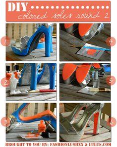 fashionlushxx x LuLu*s: DIY colored soles!