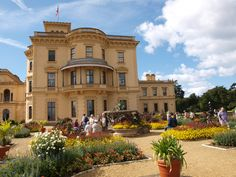 Osborne House on the Isle of Wight | Osborne House is a former royal residence in East Cowes, Isle of Wight, UK. The house was built between 1845 and 1851 for Queen Victoria and Prince Albert as a summer home and rural retreat. Prince Albert designed the house himself in the style of an Italian Renaissance palazzo. Queen Victoria died here. | Photo uploaded by Lynns Waffles