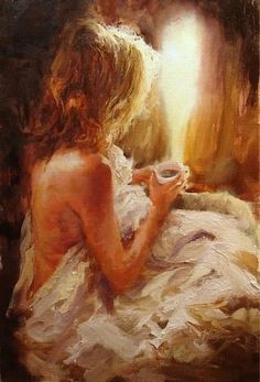Scott Mattlin American painter - incense children - xianger