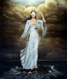 Nemesis: Greek goddess of Justice   Love of the Goddess