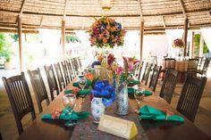 Toalha central - decoração de mesa