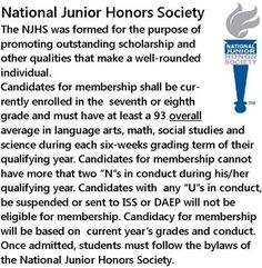 7 Best NJHS images | Honor society, National honor society ...