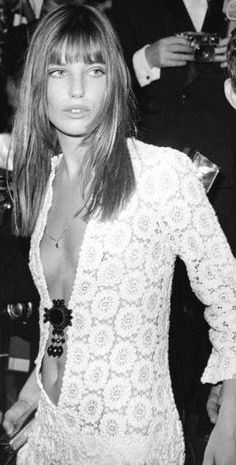 The best white dress moments over the years to get us ready for Spring: Jane Birkin