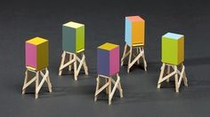 Chromazone: Colour in Contemporary Architecture 17 November 2012 - 21 July 2013. Architecture, Room 128a. Five Beehives for Olaf Nicolai, Sauerbruch Hutton. The innovative use of colour is a major trend in contemporary architecture. This display features key projects by major UK & international architects, who use colour to create identity, define space and heighten our experience of a building.