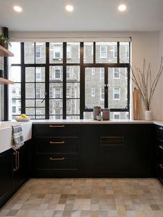 Kitchen Flooring, Kitchen Cabinets, Robins Egg, Floor Design, Bathroom Inspiration, Earthenware, Terracotta, Tiles, Celebration