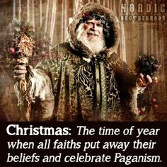And celebrate mass consumerism.