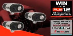 Win 1 of 3 Fly12 Video Camera/Bike Light Combo from BikeRoar!... IFTTT reddit giveaways freebies contests