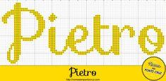 Nome Pietro em Ponto Cruz