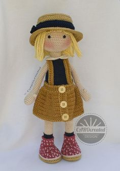 Crochet Pattern for Doll TESSA pdf Deutsch English image 5 Crochet Doll Pattern, Crochet Chart, Crochet Dolls, Crochet Patterns, Foam Rollers Hair, Crochet Thread Size 10, Amigurumi For Beginners, Quilt Batting, Sport Weight Yarn