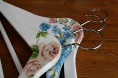 Decoupage clothes hangers / Handmade by Taja