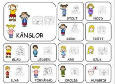 Teckenkartor – Fröken Ljusta Sign Language Book, Sign Language Phrases, Learn Swedish Online, Swedish Quotes, Swedish Language, Kids Planner, Printable Activities For Kids, Science For Kids, Business For Kids