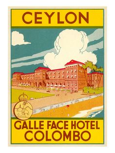 Galle Face Hotel, Colombo Print - AllPosters.co.uk