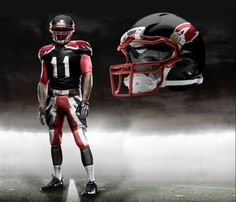 Cardinal Red, Black, & White has never looked so good.