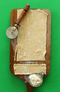 Homemade Vegan Pasta!  Love this recent site I came across: minimalist baking!!