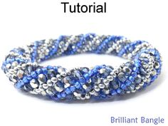 Brilliant Bangle Bracelet Russian Spiral Stitch Beading Pattern Tutorial | Simple Bead Patterns