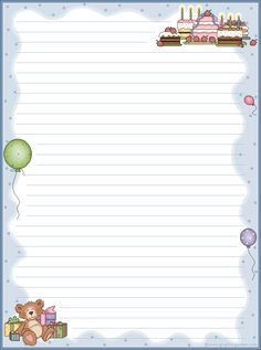 stationery free printables