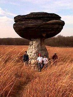 Mushroom Rocks, Kansas, USA