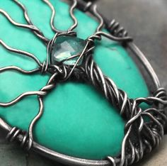 Tree of life pendant  925 sterling silver  by MoonGlowJewelry