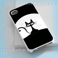 Funny and Cute Cat iPhone case iPhone 4/4S case by LissaCase, $13.99
