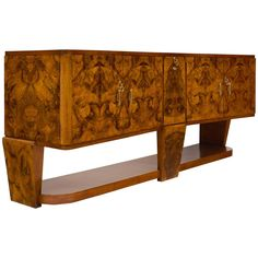 Italian Credenza/Bar in the Manner of Carlo di Carli | From a unique collection of antique and modern buffets at https://www.1stdibs.com/furniture/storage-case-pieces/buffets/