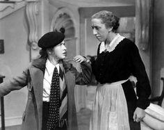 "Bonita Granville & Margaret Hamilton ""These Three"" Hollywood Images, Old Hollywood, Hollywood Actresses, Classic Hollywood, Classic Movie Stars, Classic Movies, Spring Byington, Bonita Granville, Nancy Drew Series"