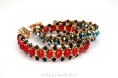 Lazy Susan Beaded Bracelets - Mary Lindell Artisan Jewelry