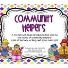 This mini-unit was created to introduce little ones to the concept of community helpers.Included is:Community helper cards that can be used as mi...