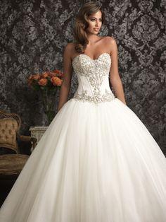 Allure Bridals '9017' size 2 used wedding dress - Nearly Newlywed