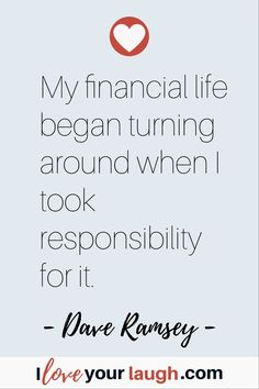 96 Dave Ramsey Quotes That Will Make You Rethink Money - Earn Money Financial Quotes, Financial Peace, Financial Success, Financial Literacy, Financial Planning, Budget Quotes, Dave Ramsey Quotes, Value Quotes, Money Makeover