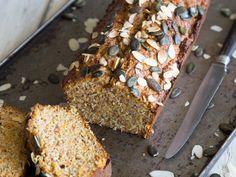 Glutenfreier Naschkram: Süßkartoffelkuchen mit Mandeln und Kokos