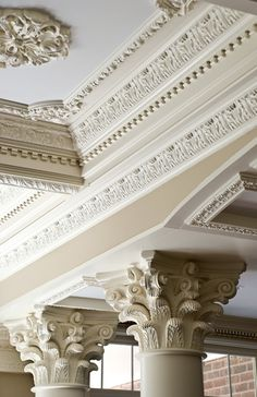 Ceiling crown molding french crown molding decorative for Crown columns