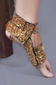 Sequin Belly dance shoes in gold by Jinglies, http://www.amazon.com/dp/B007VCOF24/ref=cm_sw_r_pi_dp_.Wyorb1DX2KDG