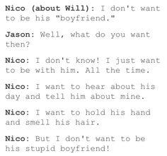 Uh uh.... Whatever ya say, Nico. Whatever you say.