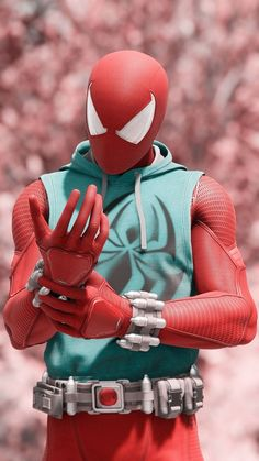 The Scarlett Spider Amazing Spiderman, Spiderman Spider, Spiderman Cosplay, Marvel Art, Marvel Dc Comics, Marvel Heroes, Deadpool Wallpaper, Avengers Wallpaper, Marvel Wallpapers