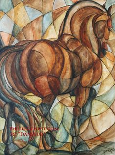 Elise Genest - I wonder if I could do this in stained glass...