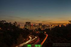 The view from Laurel Street Bridge in San Diego by Jarred Davidson