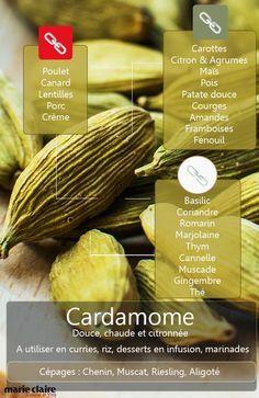 Tout ce que vous avez toujours voulu savoir sur les produits à marier à la cardamome  lire la suite / http://www.sport-nutrition2015.blogspot.com