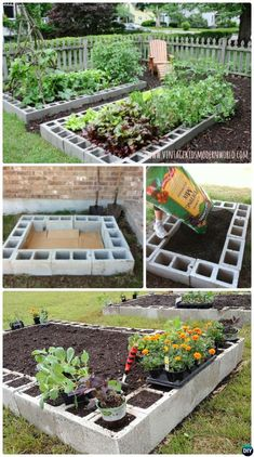 30+ Cinder Block ideas To Make Your Garden More Neat And Tidy