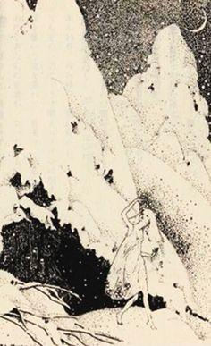 『雪』 詩:ウォルター・デ・ラ・メア 挿絵:ドロシー・P・ラスロップ 訳:荒俣宏 ★ 『妖精詩集』 より