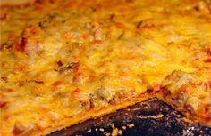 Pizza on kefir test