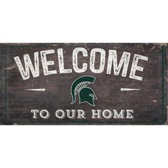 Fan Creations NCAA Welcome Wall Décor NCAA: Michigan State Spartans