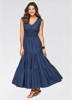 21 Best Denim Long Skirt Outfit images  894aefbce66c