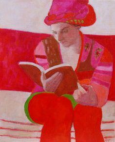 woman reading by Elisabeth Jonkers