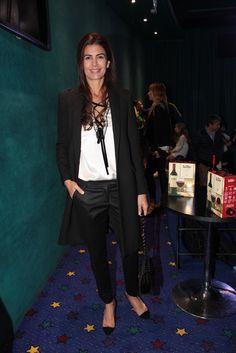 Juliana Awada en la presentación de la película de Boca Junior
