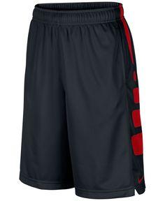 181b18bbbd19d0 Nike Boys  Elite Striped Shorts - Kids - Macy s College Basketball Shorts