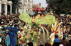 Jerk Chicken, Reggae and Red Stripe at Notting Hill Carnival