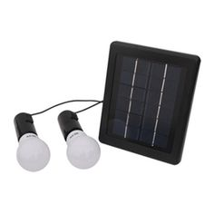 UPE-SLS05 Solar Lighting System Product Description: • Complete kit includes everything you need to hook up solar and lighting. • Great for power usage in remote area and outdoor activities.  FEATURES Kit includes: solar panel, LED lamps, ground stake, mounting bracket Solar panel:2W                 Battery: li-ion,2000mAh Lamp:0.8W LED * 2pcs   Working time: 4~5hrs
