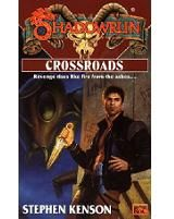 Crossroads | Book cover and interior art for Shadowrun Fiction - SRF, science fiction, sci-fi, scifi, scify, Roleplaying Game, Role Playing Game, RPG, FASA Games Inc., FASA Corporation, Ral Partha Europe Ltd. | Create your own roleplaying game books w/ RPG Bard: www.rpgbard.com | Not Trusty Sword art: click artwork for source