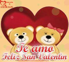 Te amo Feliz San Valentìn