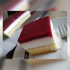Joghurtos málnás kocka | Betty hobbi konyhája